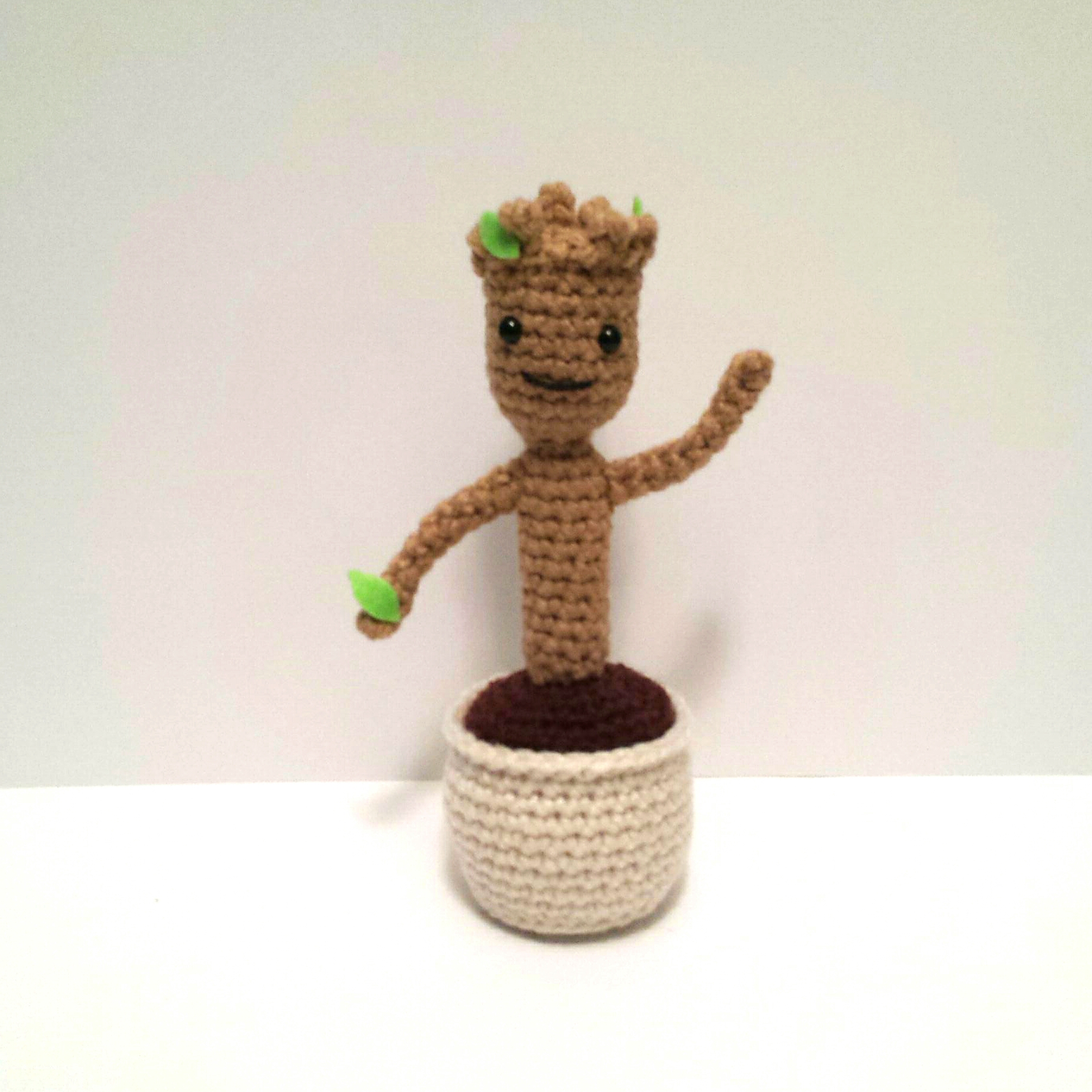 Amigurumi Groot Patron : Baby Groot Amigurumi Pattern K Hook Creations