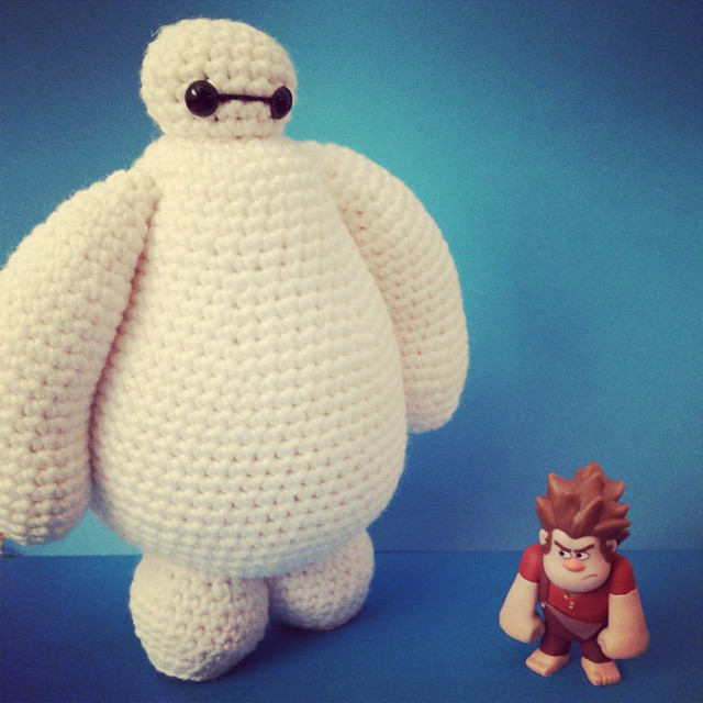 Amigurumi Big Heart : Baymax Amigurumi Pattern K Hook Creations