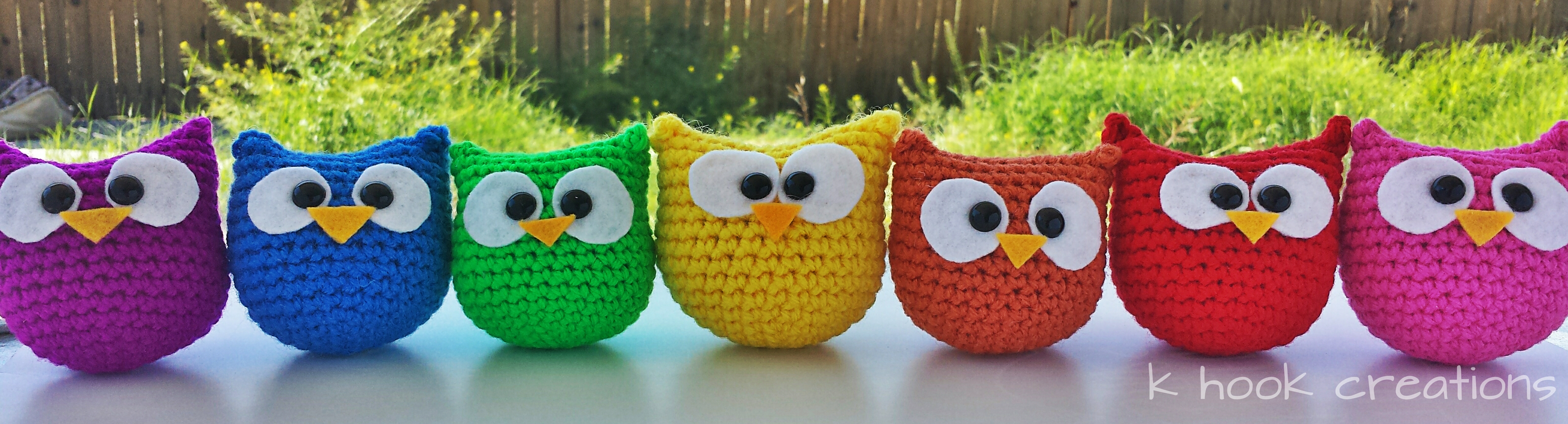 Crochet Owl Pattern ? K Hook Creations