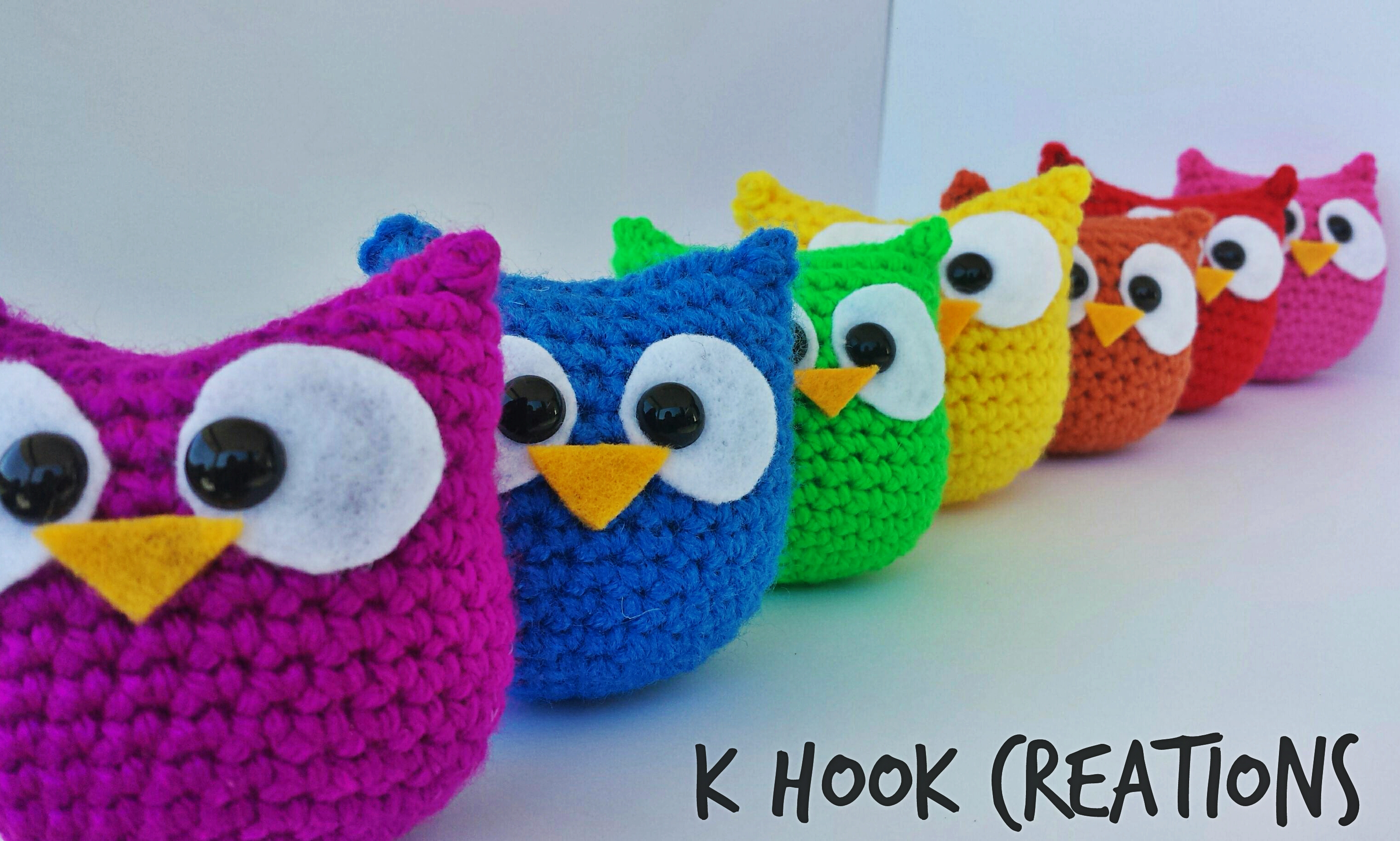 Crochet Owl Pattern - K Hook Creations